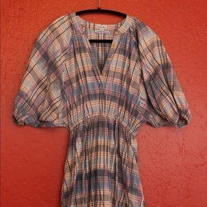 Steven Alan Plaid Madras Dress - EUC - USA Made